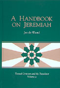 Cover for A Handbook on Jeremiah