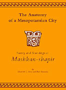 Cover image for The Anatomy of a Mesopotamian City: Survey and Soundings at Mashkan-shapir By Elizabeth C. Stone and Paul Zimansky