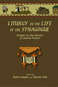 Cover for Liturgy in the Life of the Synagogue