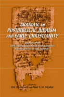 Cover for Aramaic in Postbiblical Judaism and Early Christianity
