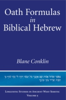 Cover for Oath Formulas in Biblical Hebrew