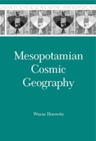 Cover for Mesopotamian Cosmic Geography