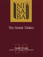 Cover image for The Nesbit Tablets By David I. Owen and Contributions by Alexandra Kleinerman