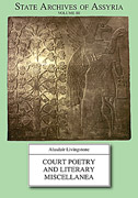 Cover image for Court Poetry and Literary Miscellanea By Alasdair Livingstone