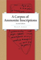 Cover image for A Corpus of Ammonite Inscriptions By Walter E. Aufrecht