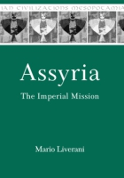 Cover image for Assyria: The Imperial Mission By Mario Liverani