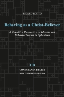 Cover for Behaving as a Christ-Believer