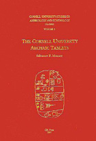 Cover image for CUSAS 01: The Cornell University Archaic Tablets By Salvatore F. Monaco