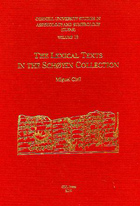 Cover image for CUSAS 12: The Lexical Texts in the Schøyen Collection By Miguel Civil