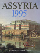 Cover image for Assyria 1995: Proceedings of the 10th Anniversary Symposium of the Neo-Assyrian Text Corpus Project, Helsinki, September 7 - 11, 1995 Edited by Simo Parpola and Robert Whiting