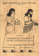 Cover image for References to Prophecy in Neo-Assyrian Sources By Martti Nissinen