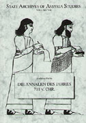 Cover image for Die Annalen des Jahres 711 v.Chr. By Andreas Fuchs