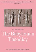 Cover image for The Babylonian Theodicy By Takayoshi Oshima