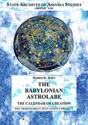 Cover image for The Babylonian Astrolabe: The Calendar of Creation By Rumen Kolev