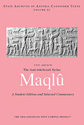 Cover image for The Anti-Witchcraft Series Maqlû: A Student Edition and Selected Commentary By Tzvi Abusch