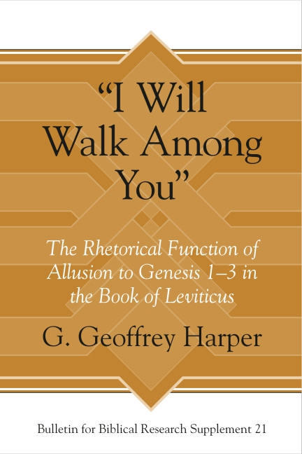 "Cover for ""I Will Walk Among You"""