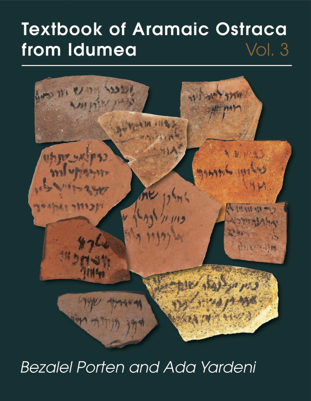 Cover for Textbook of Aramaic Ostraca from Idumea, volume 3