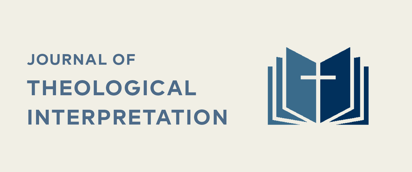 Journal of Theological Interpretation, Murray Rae, Editor